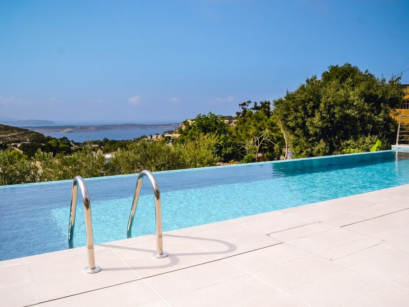 Villa con piscina a Malta